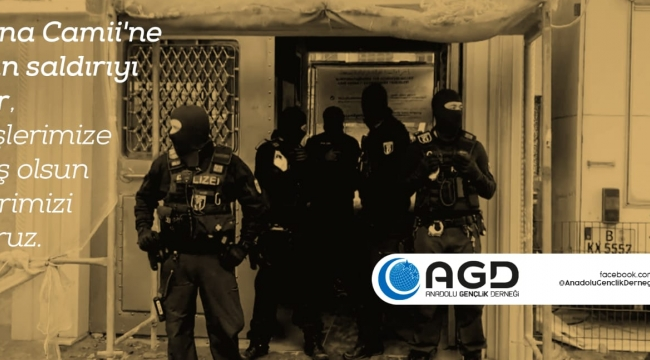 AGD den Camii Saldırısına İlişkin Kınama Mesajı