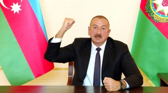 Aliyev, Ermenistan ile görüşmek için tek şart koştu: Karabağ'dan aşamalı olarak çekilmeli