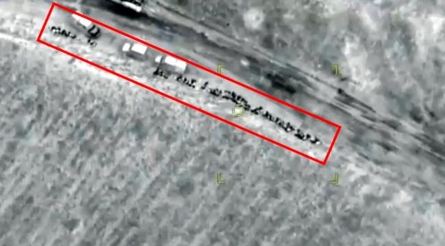 """Aliyev """"Sahada cevap vereceğiz"""" demişti! Ermenistan birlikleri SİHA'larla bir bir böyle yok edildi"""