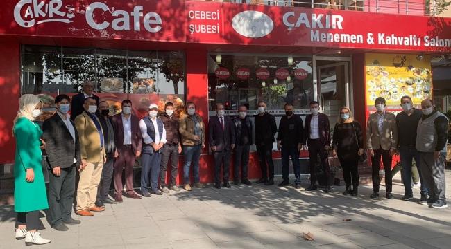 Altan Basın Mensupları ile Kahvaltıda bir Araya Geldi