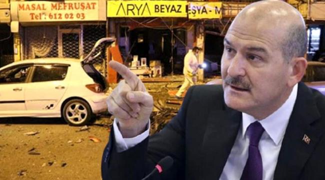 Bakan Soylu'dan İskenderun'daki patlamaya ilişkin ilk açıklama: İki terörist de etkisiz hale getirildi