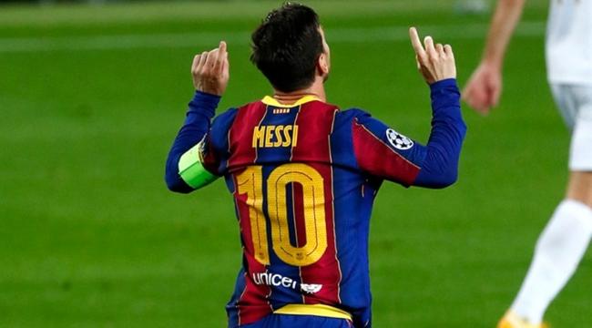 Barcelona'lı Messi, Şampiyonlar Ligi'nde 16 sezon üst üste gol atan ilk futbolcu oldu