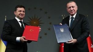 Cumhurbaşkanı Erdoğan duyurdu: Türkiye ile Ukrayna arasında önemli adımları, az önce attığımız imzayla gerçekleştirdik