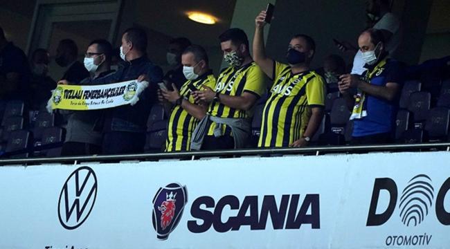 Fenerbahçe taraftarından rakibi kızdıracak tezahürat: Trabzon kümeye