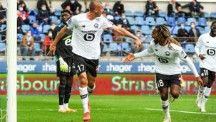 Lille, Zeki Çelik ve Burak Yılmaz'ın gol attığı maçta Strasbourg'u 3-0 yendi