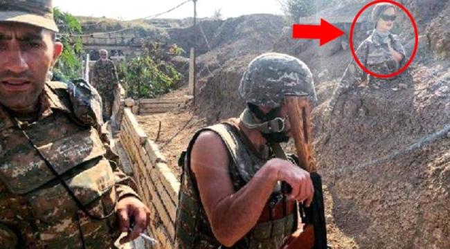SİHA'lara direnemeyen Ermenistan'dan PKK taktiği! Hedef şaşırtmak için mevzilere cansız manken yerleştirdiler