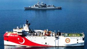 """Yunanistan'ın """"Oruç Reis"""" iftiralarına Dışişleri Bakanlığı'ndan sert yanıt: Kıta sahanlığı dahilinde"""