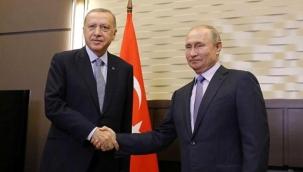 Cumhurbaşkanı Erdoğan, Rusya Devlet Başkanı Putin ile Dağlık Karabağ'ı görüştü