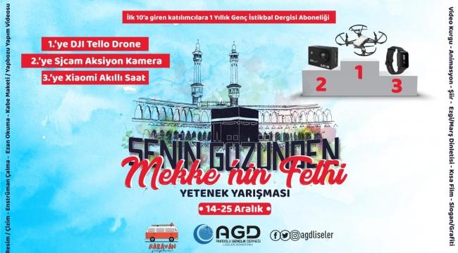 AGD Senin Gözünden Mekke'nin Fethi Yetenek Yarışması
