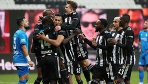 Beşiktaş, sahasında ağırladığı Erzurumspor'u 4-0 mağlup etti