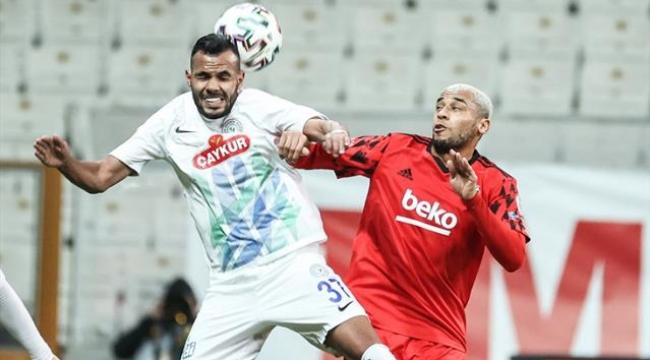 Beşiktaş, evinde Çaykur Rizespor'u 1-0 yenerek kupada tur atladı