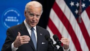 """Biden'dan """"Putin'le ne konuştunuz?"""" diye soran muhabire esprili yanıt: Seni konuştuk, iyi dileklerini iletti"""