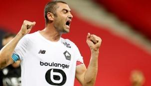Burak Yılmaz, Lille'de aralık ayının en iyi oyuncusu seçildi