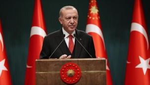 """Cumhurbaşkanı Erdoğan'dan """"Kısıtlamalar ne zaman kalkar?"""" sorusuna yanıt: Son durumu Kabine toplantısı sonrasında açıklarız"""