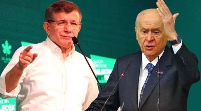 Davutoğlu'ndan Bahçeli'nin açıklamalarına sert tepki: Artık normalleşmeli