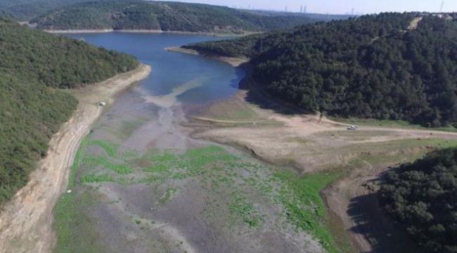 Hafta sonu yağan yağmurdan sonra İstanbul'da barajlardaki doluluk oranı %20'nin üzerine çıktı
