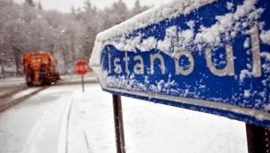 İstanbul'a beklenen kar geliyor! Valilik cuma gününü işaret etti