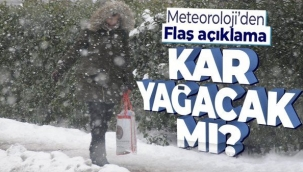 İstanbul hava durumu: Ocak ayında kar yağacak mı?