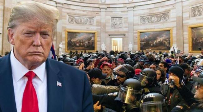 Trump, kanlı Kongre baskınıyla ilgili konuştu: Ben şiddet istemiyorum