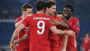 Deplasman takımlarının kazandıkları gecede Lewandowski, Şampiyonlar Ligi tarihine geçti