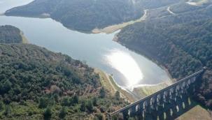 İstanbul barajlarındaki doluluk oranı yüzde 70'i aştı