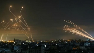 İsrail'in çok güvendiği Demir Kubbe hava savunma sistemi delindi! Atılan 2 bin 300 füze zalimleri felç etti