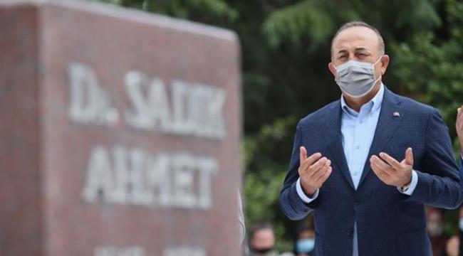 Yunanistan'a giden Bakan Çavuşoğlu'nun paylaşımında kullandığı ifade Yunanları çıldırttı