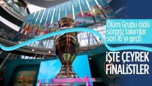 Euro 2020'de çeyrek finale çıkan takımlar
