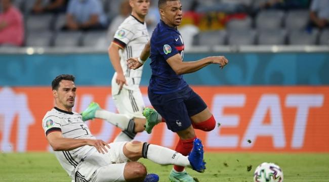 Fransa, Almanya'yı tek golle mağlup etti