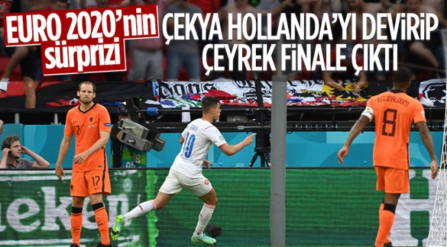 Hollanda'yı eleyen Çekya çeyrek finalde