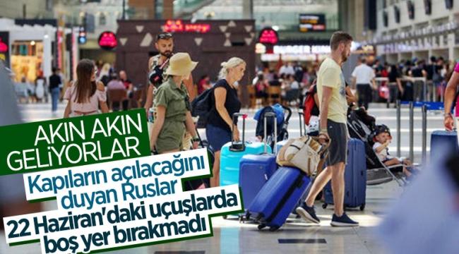Rus turistlerden Türkiye turlarına yoğun talep