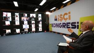 saadet partisi çiftçi kongresinin ardından İŞÇİ kongresi yaptı