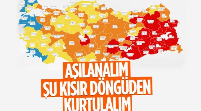 21 Temmuz Türkiye'de koronavirüs tablosu
