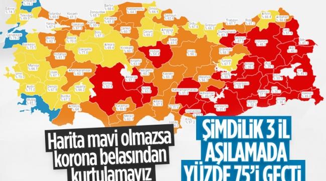 9 Temmuz Türkiye'de koronavirüs tablosu ve aşı haritası