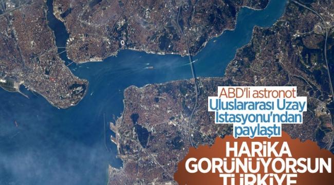 ABD'li astronotun Türkiye paylaşımı