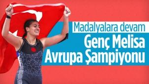 Avrupa Gençler Güreş Şampiyonası'nda Melisa Sarıtaç altın madalya kazandı