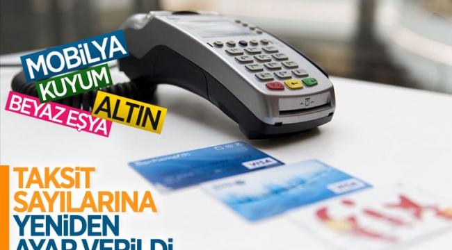 BDDK'dan kredi kartı taksit sayısına düzenleme