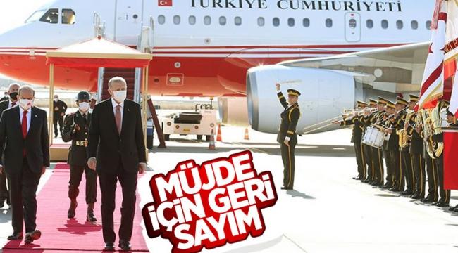 Cumhurbaşkanı Erdoğan, Kıbrıs'a gidiyor