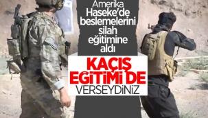 Haseke'de ABD öncülüğünde 400 PKK'lı teröriste silahlı eğitim verildi