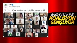 HDP'nin bayramlaştığı partiler