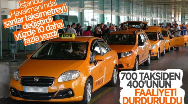 İstanbul'da fazla yazan taksimetre iddiası