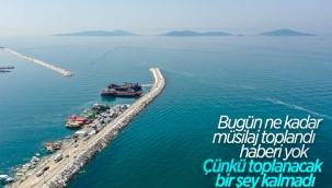 Murat Kurum: Toplanacak müsilaj kalmadığı için temizlik yapılmadı