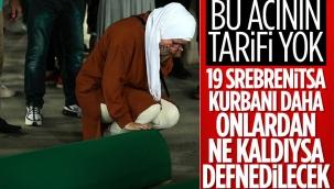 Srebrenitsa'da soykırım kurbanı 19 kişi daha defin için hazırlandı
