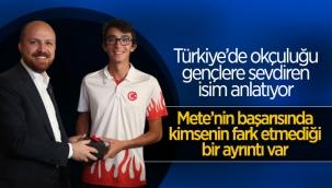 Bilal Erdoğan: Mete Gazoz ile olimpiyatlarda yeni bir madalya kapısı aralandı