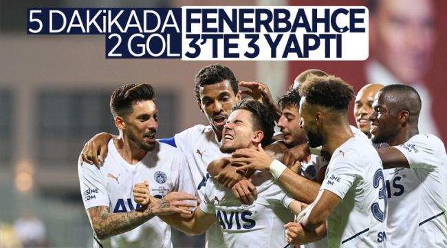 Fenerbahçe, Altay'ı 2 golle mağlup etti