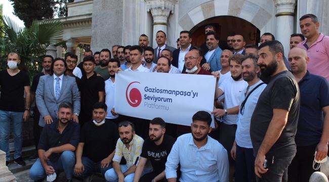 Gaziosmanpaşa'yı Seviyorum Platformu çalışmalarına start verdi