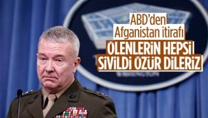 ABD'den açıklama: Afganistan'daki saldırıda siviller öldü, özür dileriz