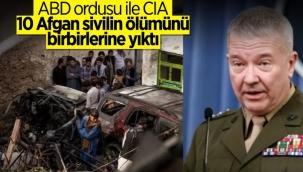 ABD ordusu ve istihbaratı, Kabil'de 10 sivilin öldüğü saldırıdan birbirlerini sorumlu tuttu