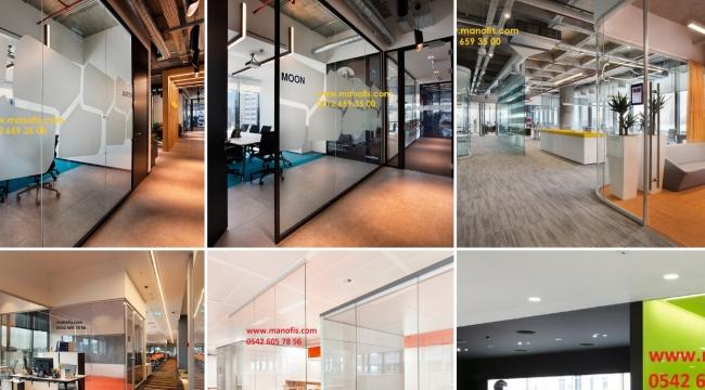Artık ofislerde duvarlar yok şeffaflık ve verimlilik devri.