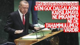 Cumhurbaşkanı Erdoğan, BM Genel Kurulu'nda